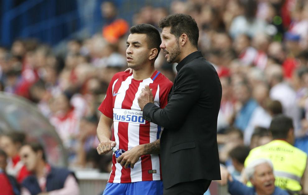 VIDEO: Simeone asegura que Correa va camino de crack 1