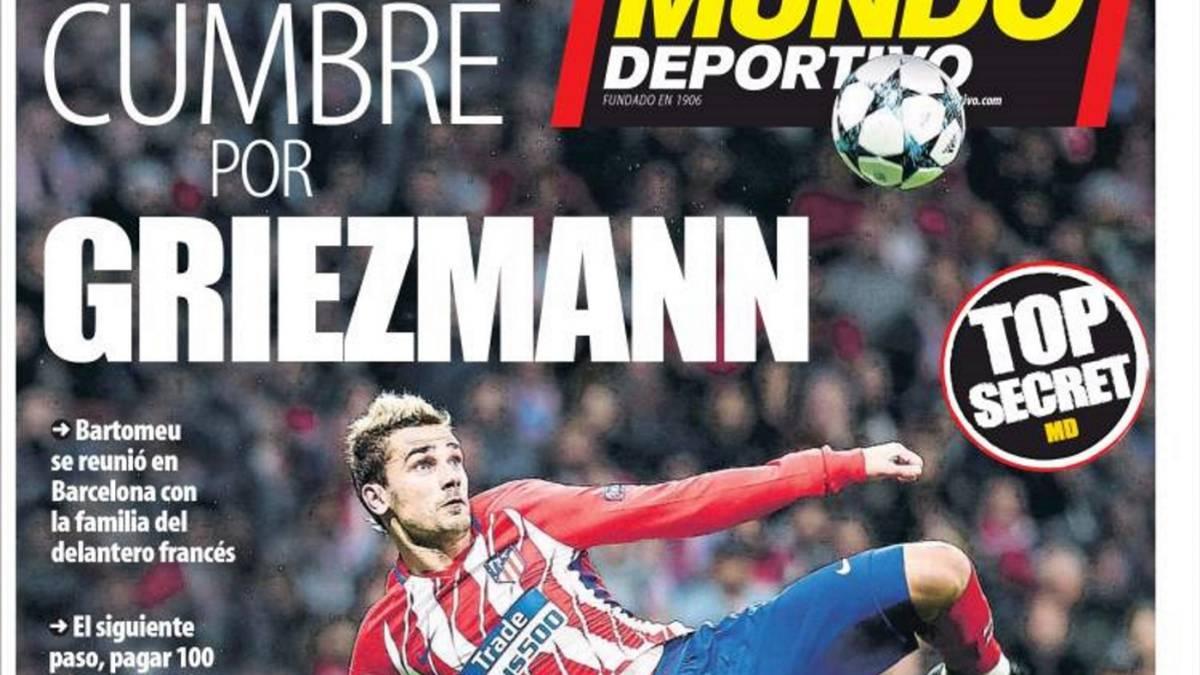 VIDEO COPE: La grave sanción que puede tener el FC Barcelona por flirteo' con Griezmann 1