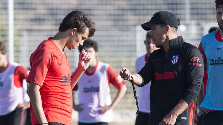 VIDEO: Las declaraciones de Simeone que motivarán a Joao Felix 1
