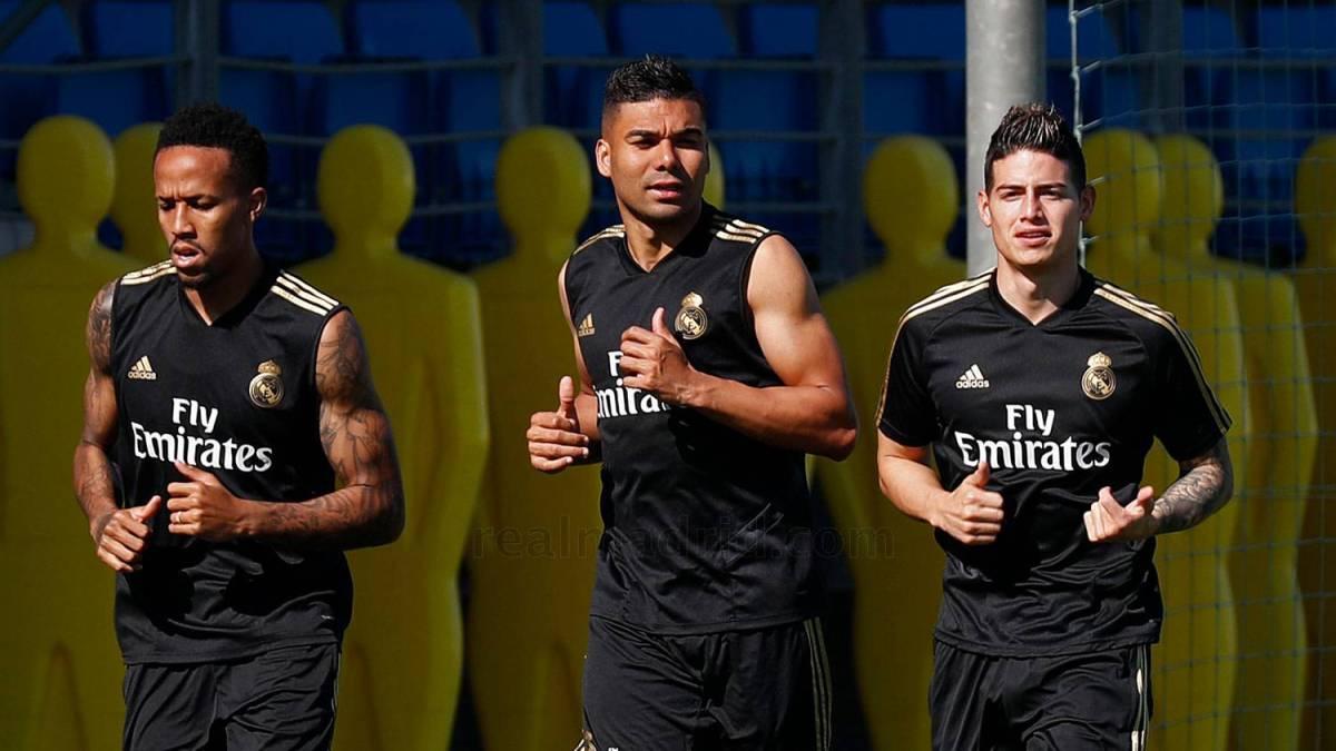 """James se entrena con Zidane y el Atlético ya tiene """"entre ojos"""" a estos 2 cracks como alternativas 1"""