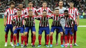 [PREVIA] Posible XI del Atlético de Madrid. Por @aperona9 1