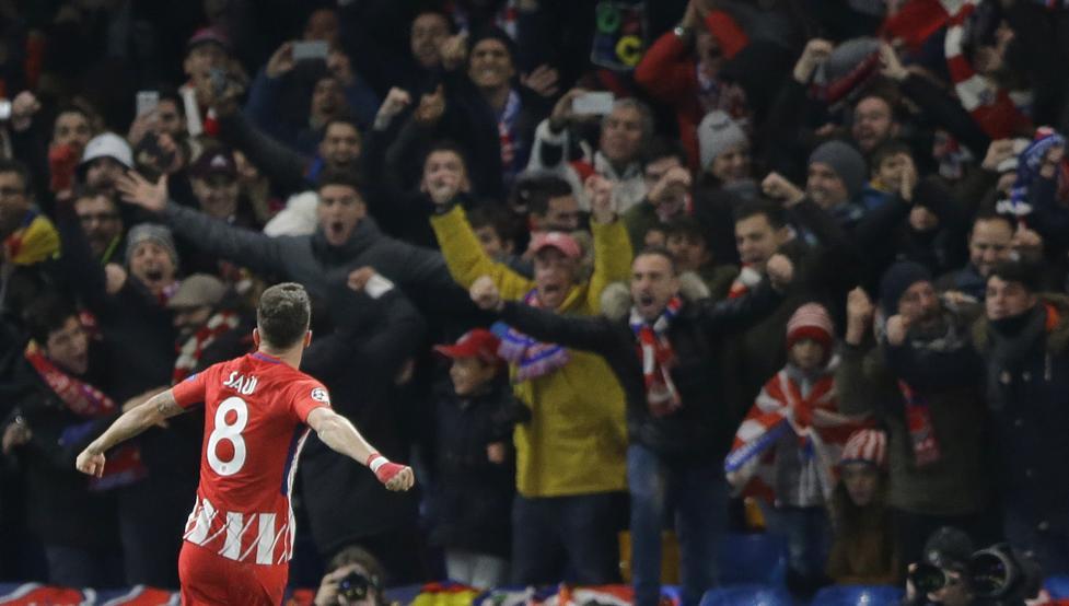 VIDEO: Así animaba la mejor afición del mundo al Atlético tras caer eliminado 1