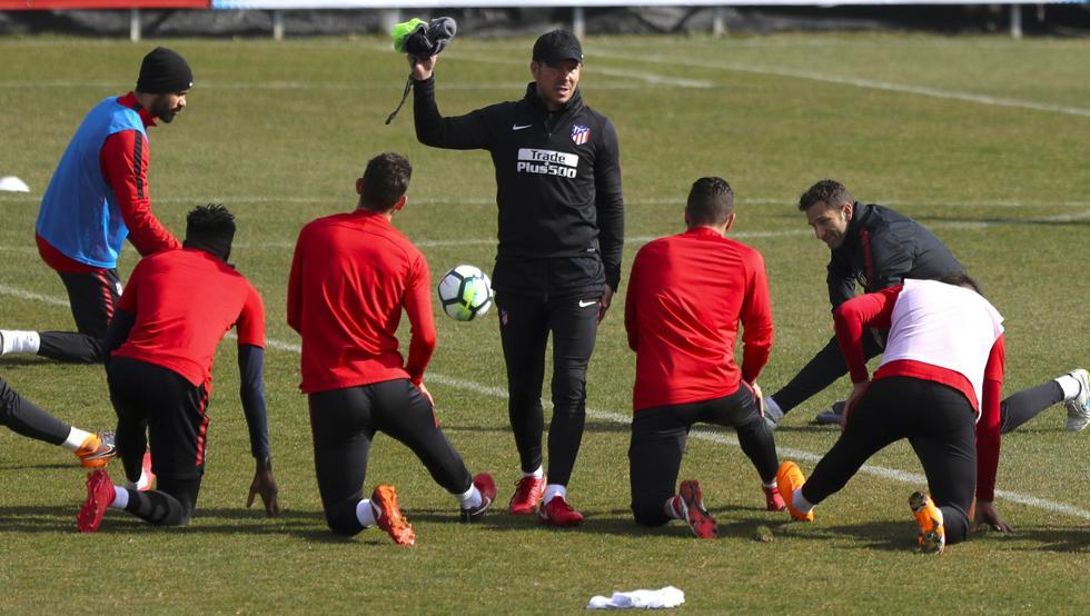 """Así será el """"cuatrivote"""" que planea Simeone para asaltar el Camp Nou 1"""