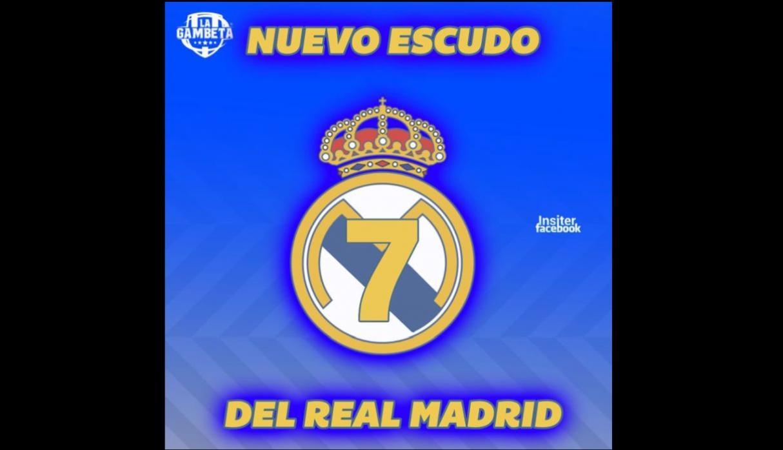 """GALERIA: Los """"memes"""" más compartidos del ridículo mundial del Real Madrid 1"""