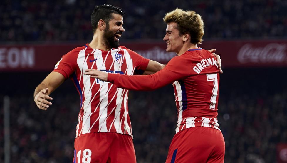 La razón del por qué la felicidad de Griezmann se llama Diego Costa 1