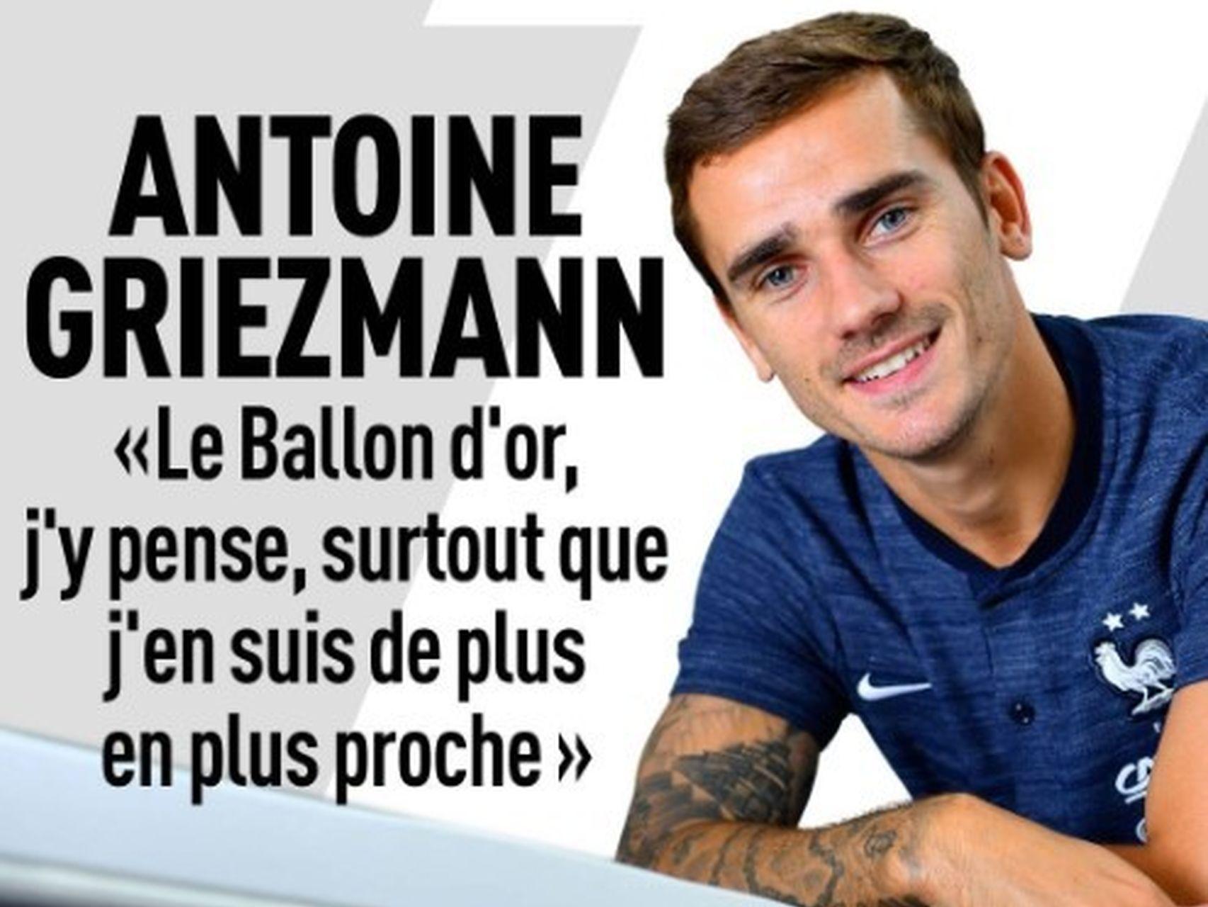 SIN TAPUJOS: Por todo ésto espera Griezmann estar entre los 3 finalistas al Balón de Oro 1