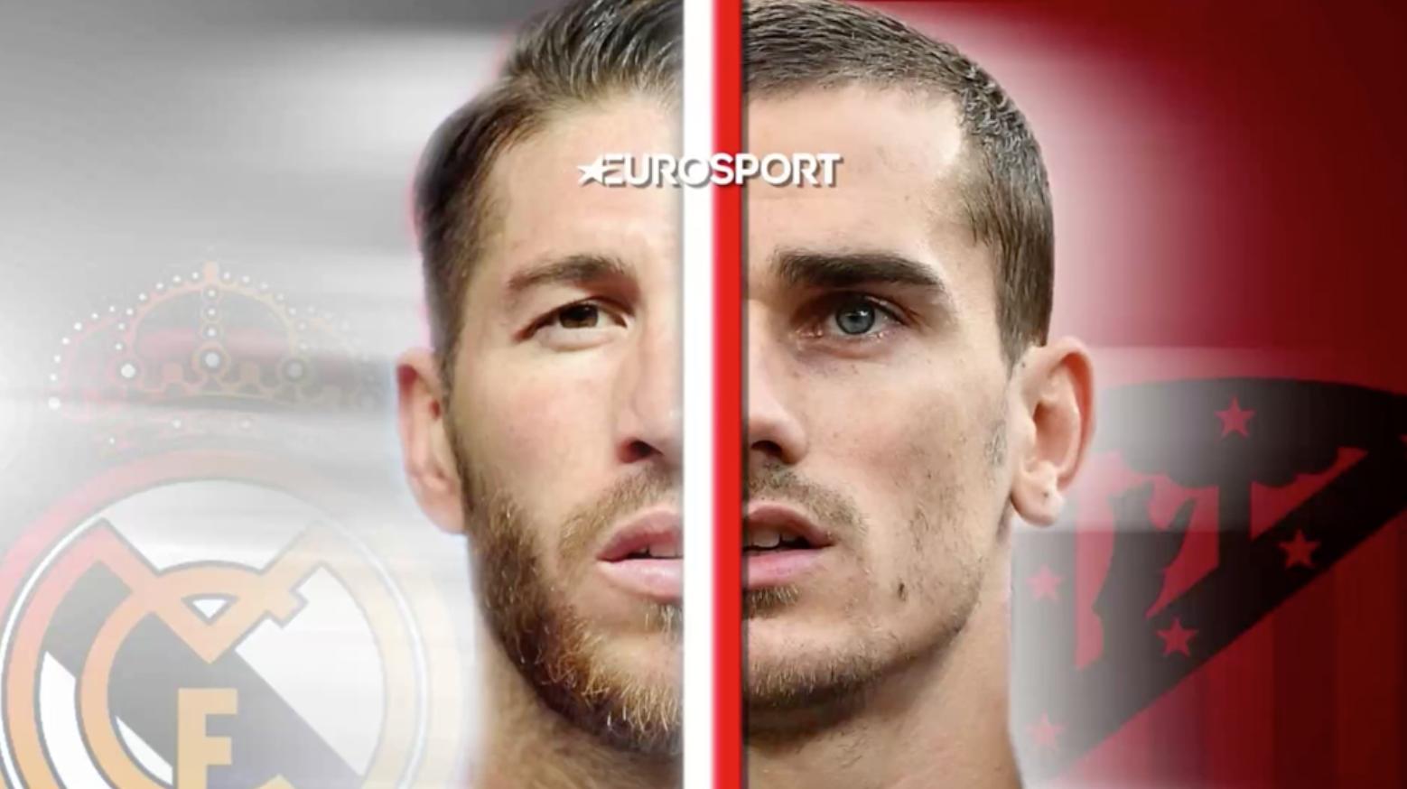 VIDEO EuroSport: La previa en 60 segundos del Real Madrid-Atlético de Madrid (21:00) 1