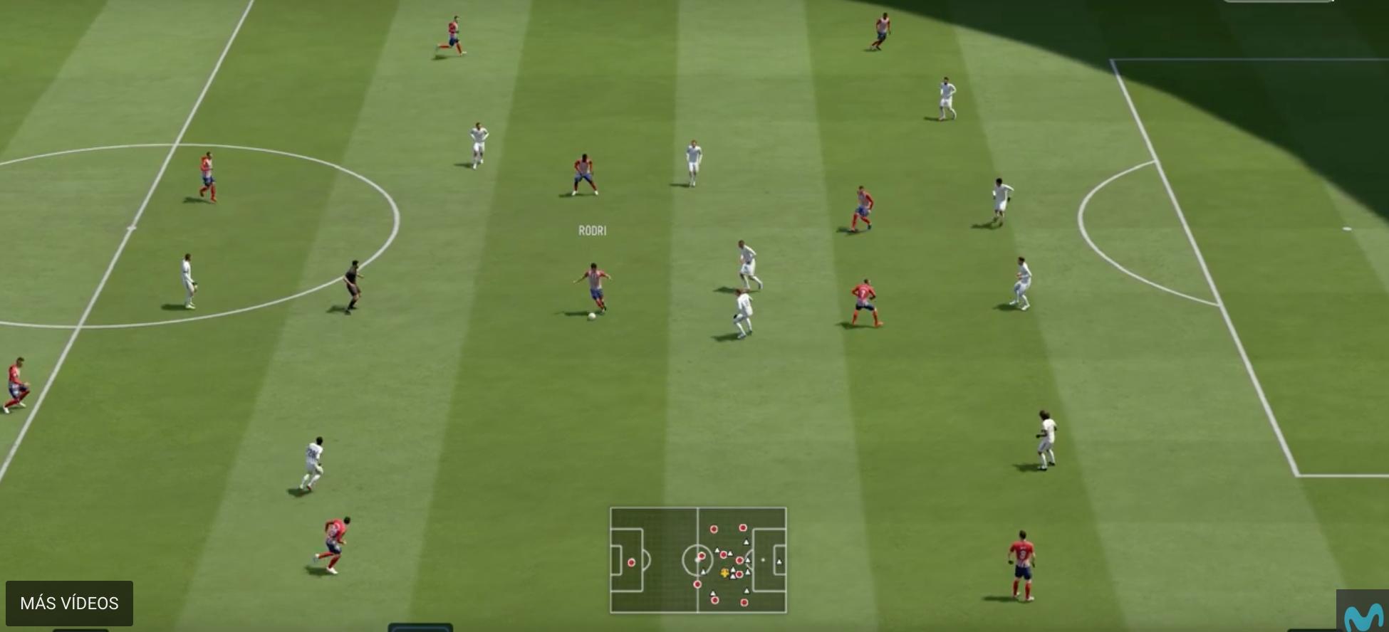 VIDEO: FIFA 19 predice el resultado del Atlético de Madrid-Real Madrid 1