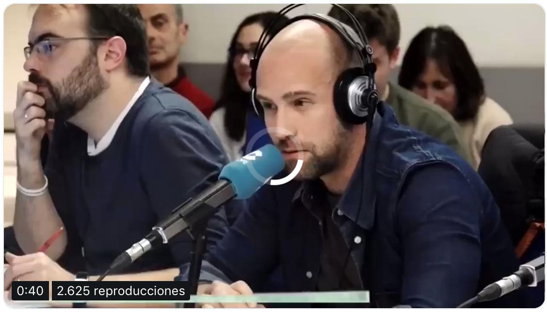 COPE: El vídeo de Miró criticando al VAR del que todos hablan 1