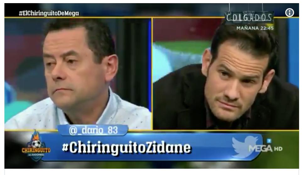 """VIDEO: Varios tertulianos del """"Chiringuito"""" declaran que hoy animarán a Cristiano 1"""