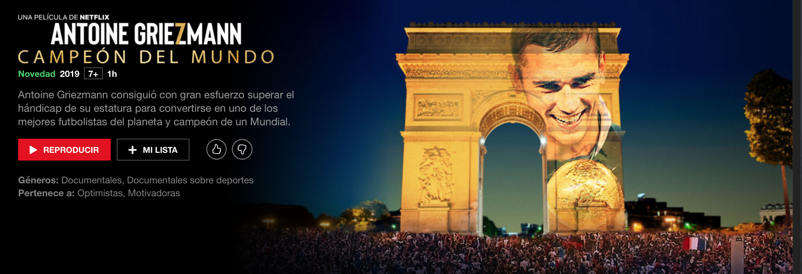 "VIDEO: Netflix emite desde hoy este documental de Griezmann: ""Amo el club"" 1"