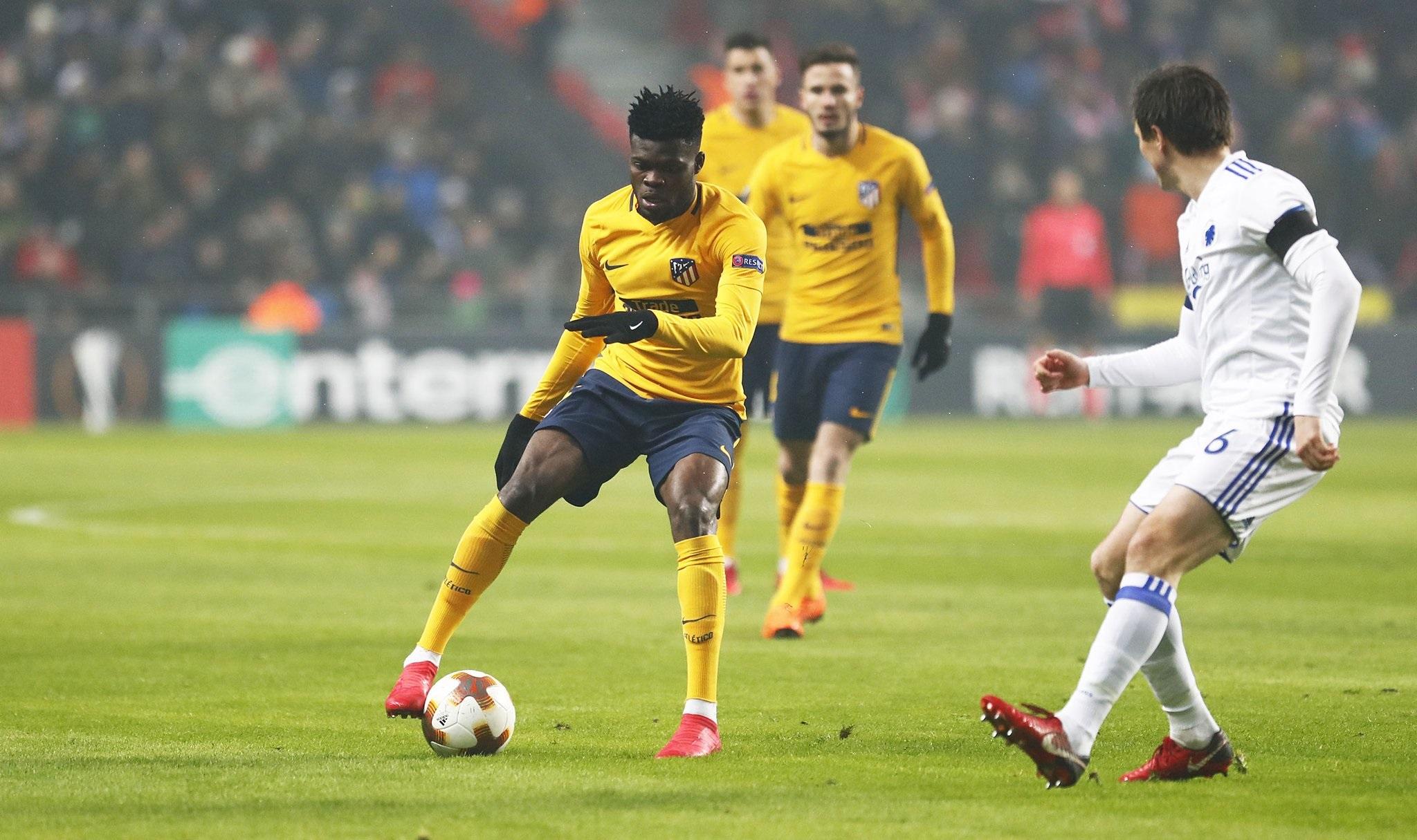El Atlético arrasa en Copenhague 1