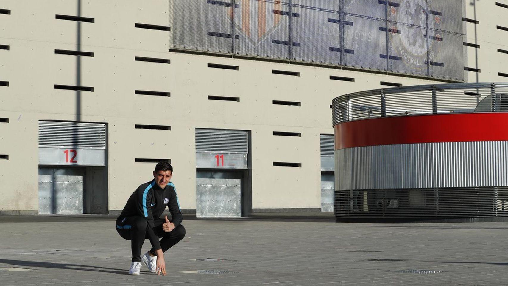 """Courtois y 5 más que se declaraban """"colchoneros"""" y ficharon por el Real Madrid 1"""