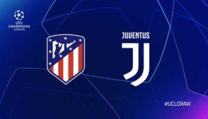 Posible XI del Atlético y de la Juve. 1