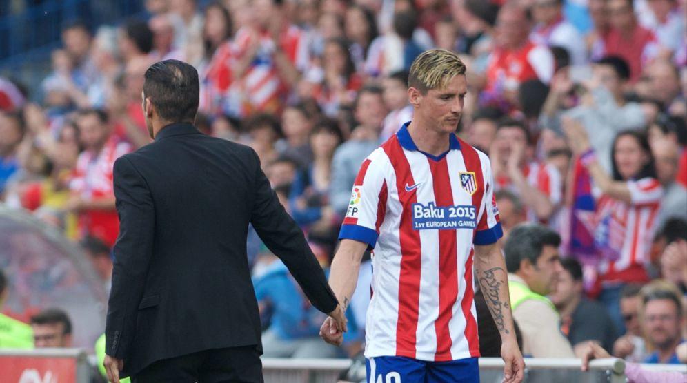 Simeone, Torres y una afición dividida 1