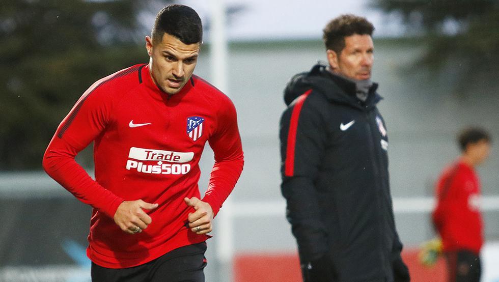 Éste vídeo de Costa vacilando a Vítolo en su primer entrenamiento es ya viral 1