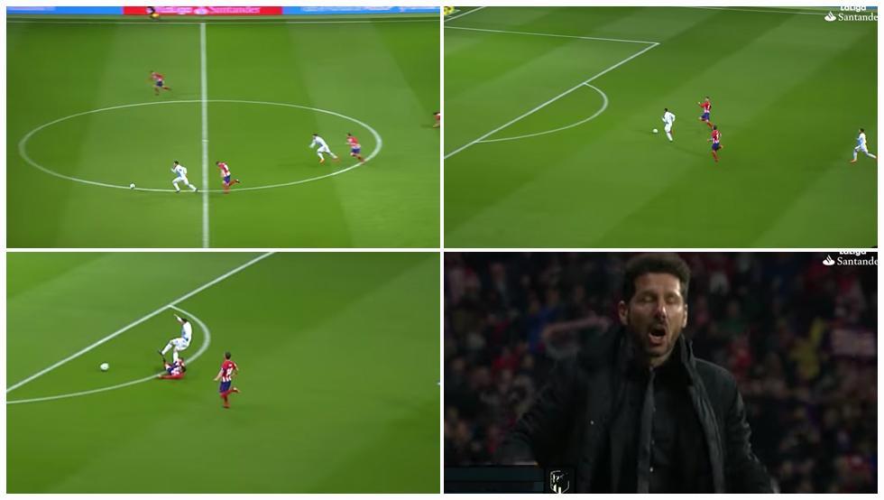 Se hace viral este vídeo del sprint a 34 Km/h de Lucas para evitar el gol del Deportivo 1