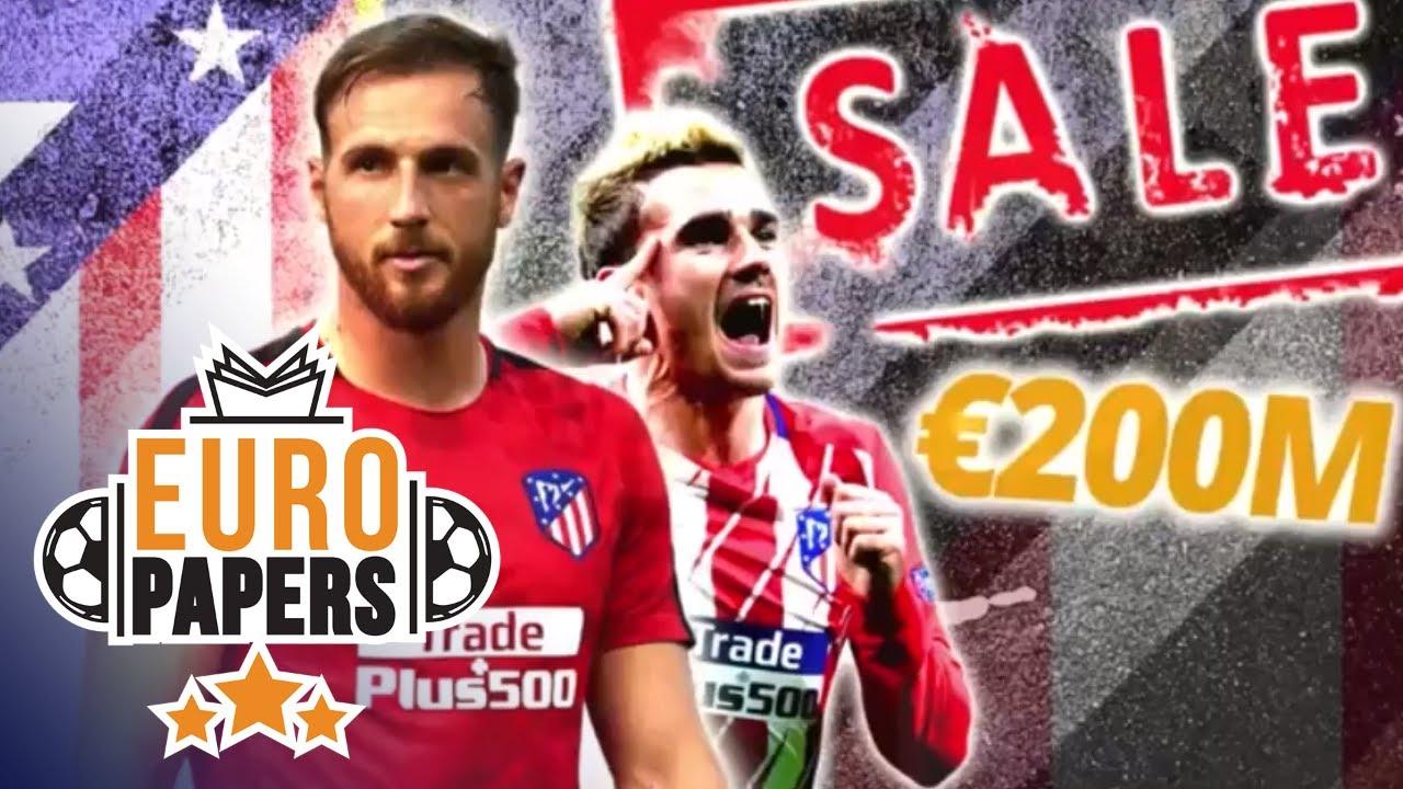 Los 8 mejor pagados del Atlético según Global Sports Salaries Survey a día de hoy 1