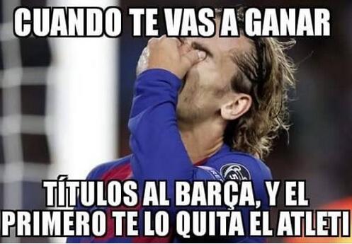 Los mejores 10 memes del Barcelona - Atlético de Madrid de la Supercopa 1