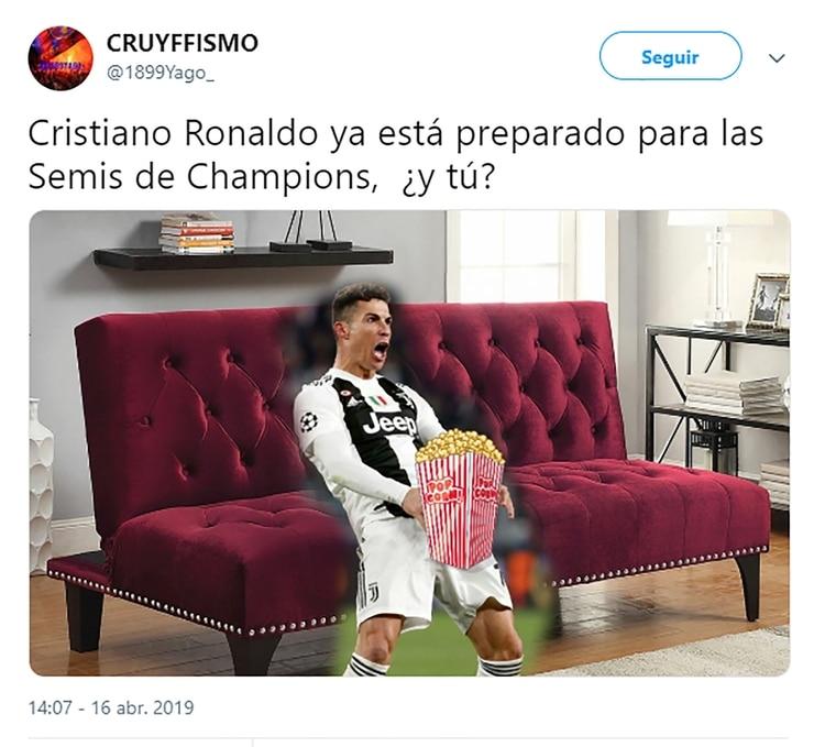 El mundo el fútbol se mofa de Cristiano con estos divertidos memes 1