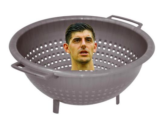 MEMES: La propia afición del Real Madrid arremete con Courtois por su nulo rendimiento 1