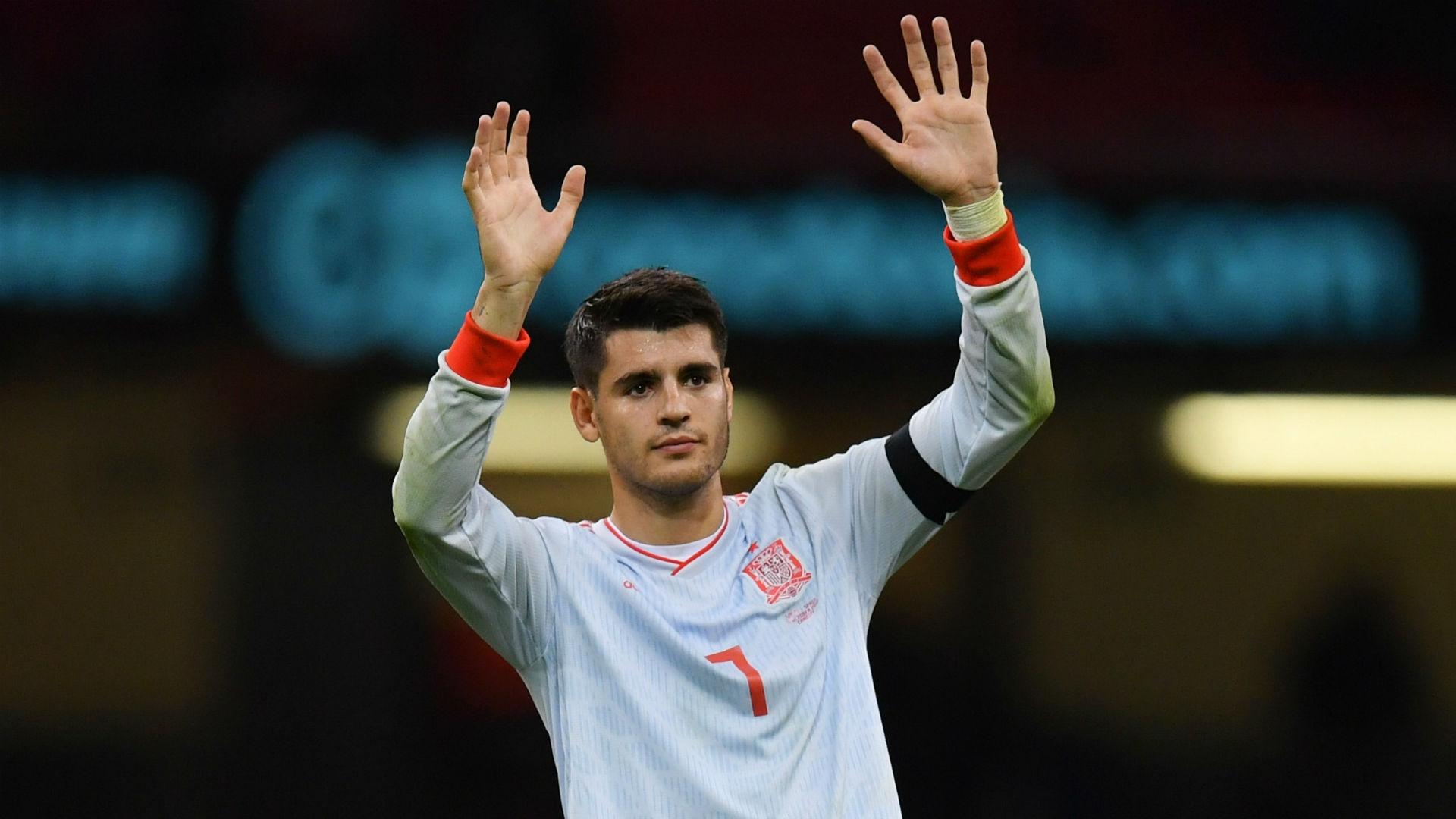 VIDEO HD: Así fue el doblete de Morata con la selección 1