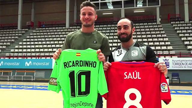 Este vídeo de Saúl y Ricardinho jugando juntos es ya viral en las redes 1